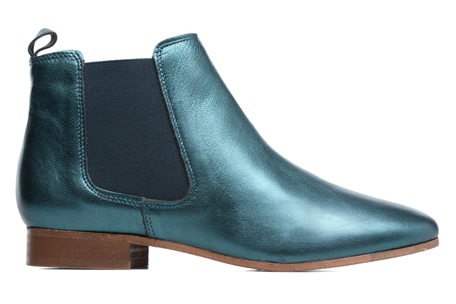 Ankle boots Bensimon Boots Chelsea Green back view