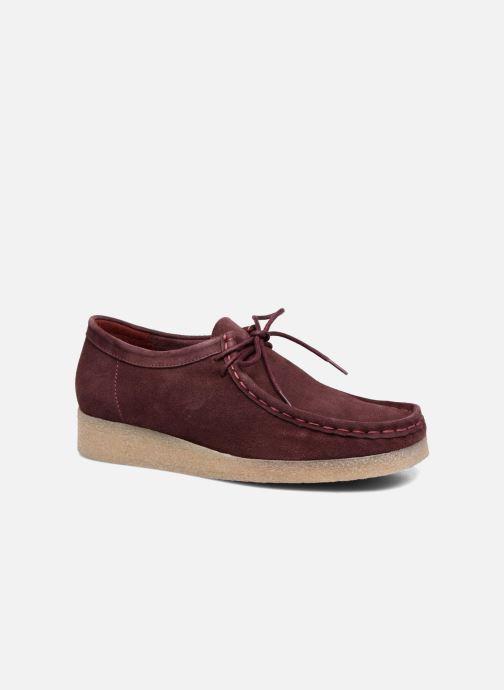 Snøresko Bensimon Derbys Casual Bordeaux detaljeret billede af skoene