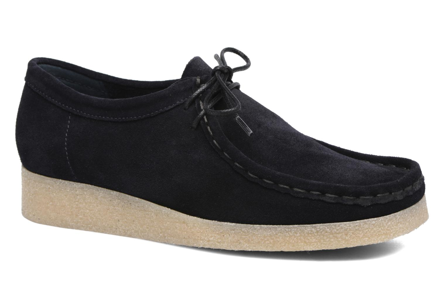 Lace-up shoes Bensimon Derbys Casual Black detailed view/ Pair view