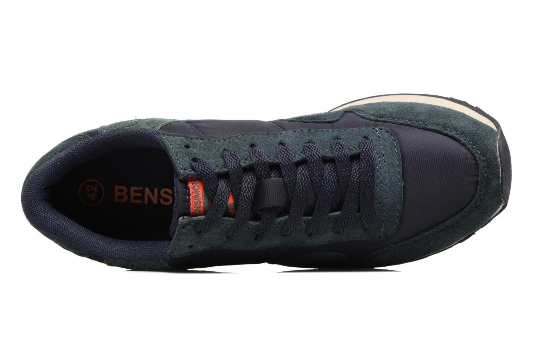 Baskets Bensimon Runnings H Bleu vue gauche