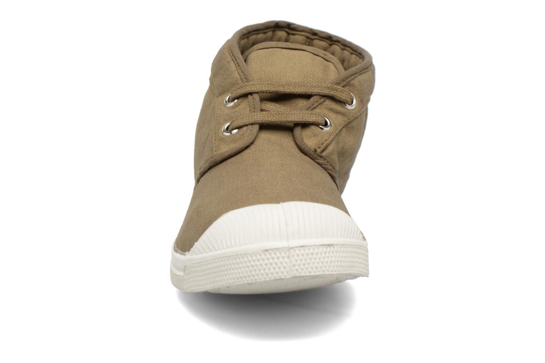 Baskets Bensimon Newnils H Vert vue portées chaussures