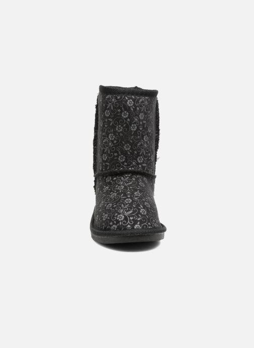 Bottes Canguro C57415 Noir vue portées chaussures