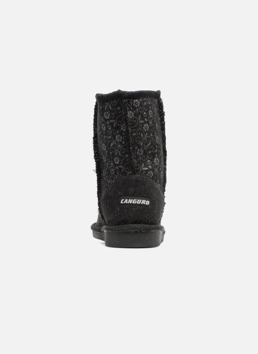 Stiefel Canguro C57415 schwarz ansicht von rechts