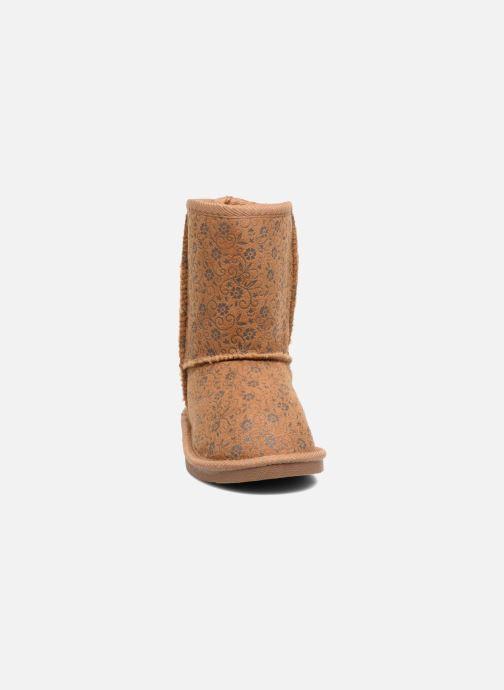 Bottes Canguro C57415 Marron vue portées chaussures