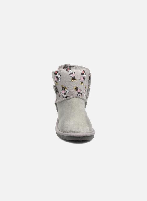 Stiefel Canguro C57923 grau schuhe getragen