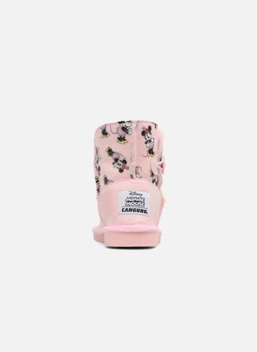 Støvler & gummistøvler Canguro C57923 Pink Se fra højre
