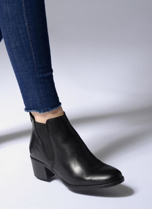 Bottines et boots Tamaris Circé Noir vue bas / vue portée sac