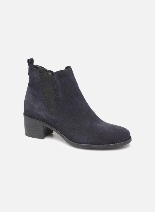 Ankelstøvler Tamaris Circé Blå detaljeret billede af skoene