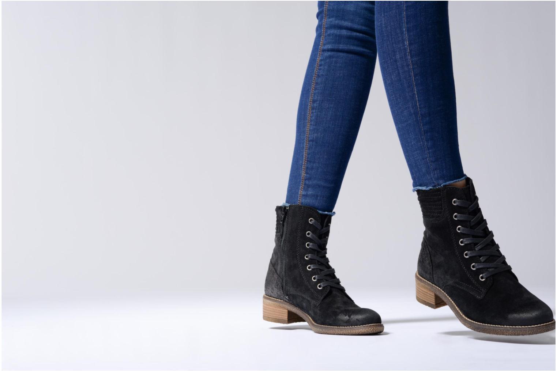 Bottines et boots Tamaris Erressea Noir vue bas / vue portée sac