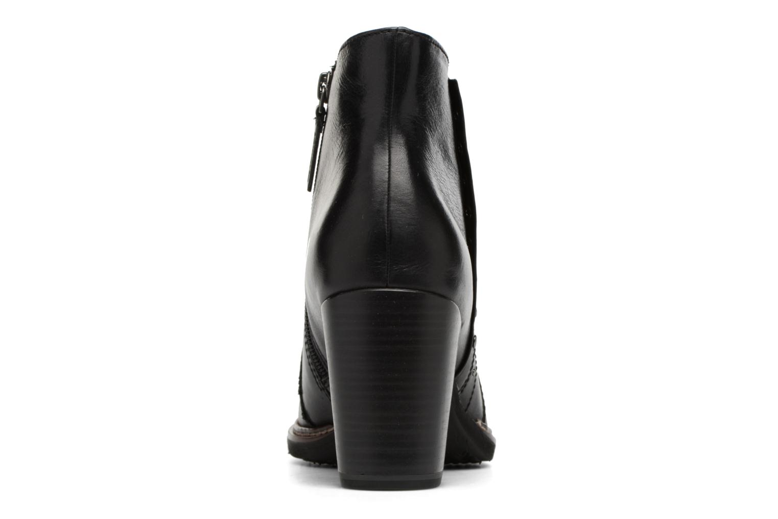 Ankle boots Tamaris Aeglas Black view from the right