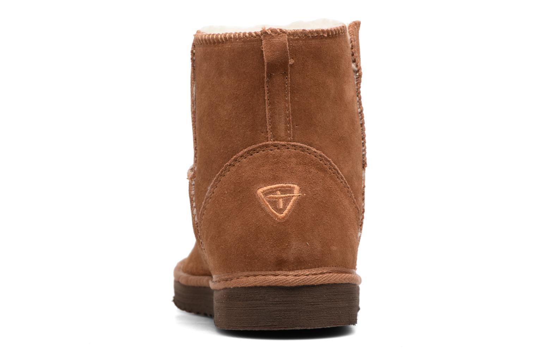 Bottines et boots Tamaris Valani Marron vue droite