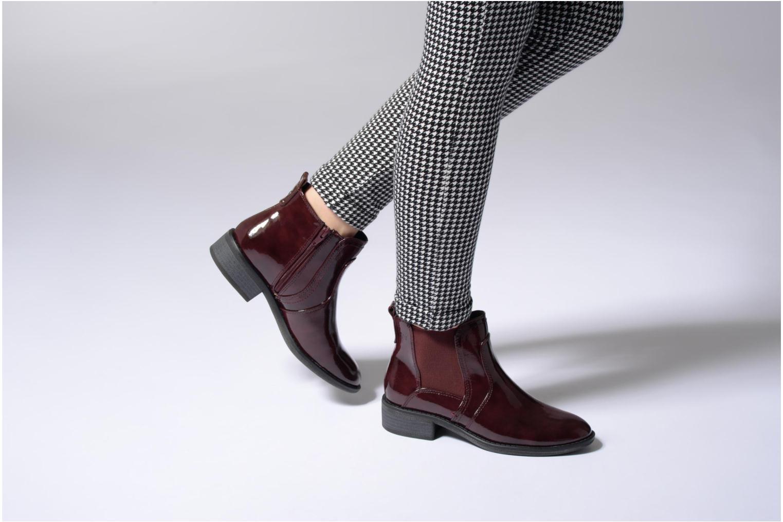 Bottines et boots Tamaris Jenna Noir vue bas / vue portée sac