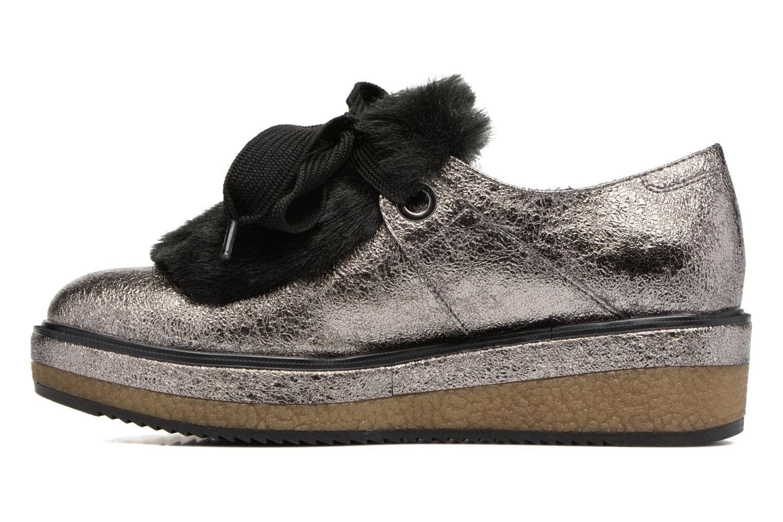 Chaussures à lacets Tamaris Melania Argent vue face