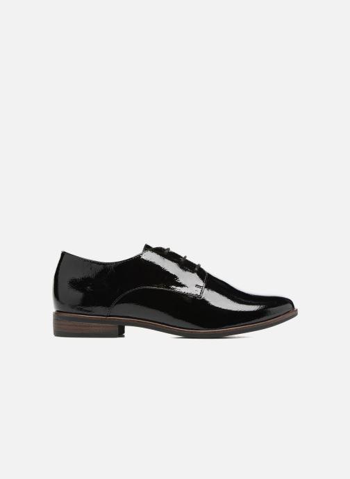 Lace-up shoes Tamaris Caraway Black back view