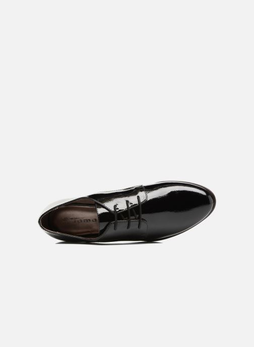 Lace-up shoes Tamaris Caraway Black view from the left