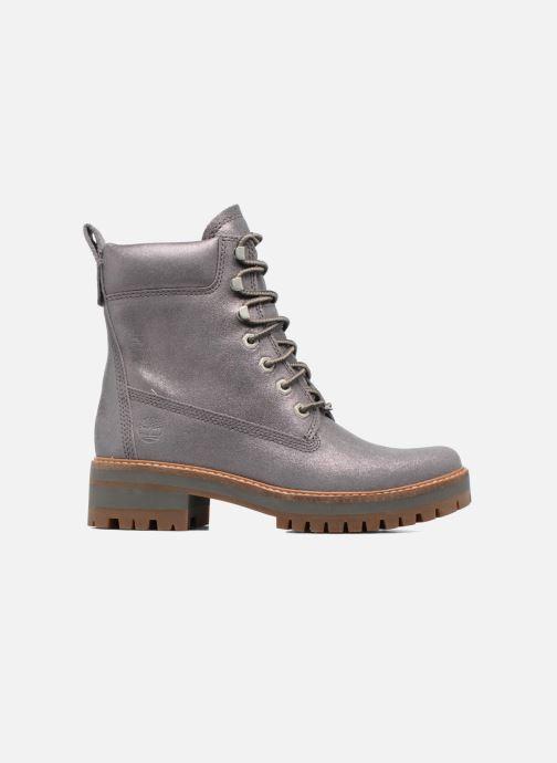 Stivaletti e tronchetti – Timberland Donna Courmayeur Valley Yellow Boot Dark Grey Shiny Suede