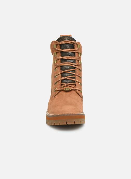 Boots en enkellaarsjes Timberland Courmayeur Valley Yellow Boot Bruin model