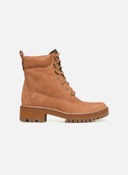 Boots en enkellaarsjes Timberland Courmayeur Valley Yellow Boot Bruin achterkant