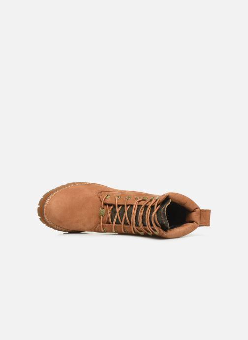 Boots en enkellaarsjes Timberland Courmayeur Valley Yellow Boot Bruin links