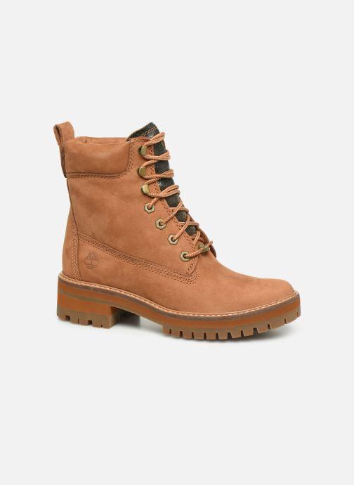 Boots en enkellaarsjes Timberland Courmayeur Valley Yellow Boot Bruin detail