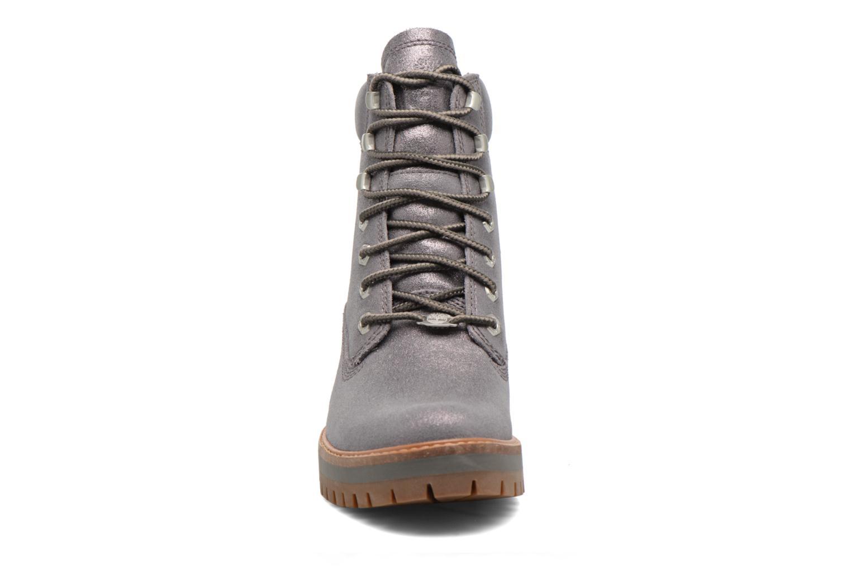 Stiefeletten & Boots Timberland Courmayeur Valley Yellow Boot silber schuhe getragen