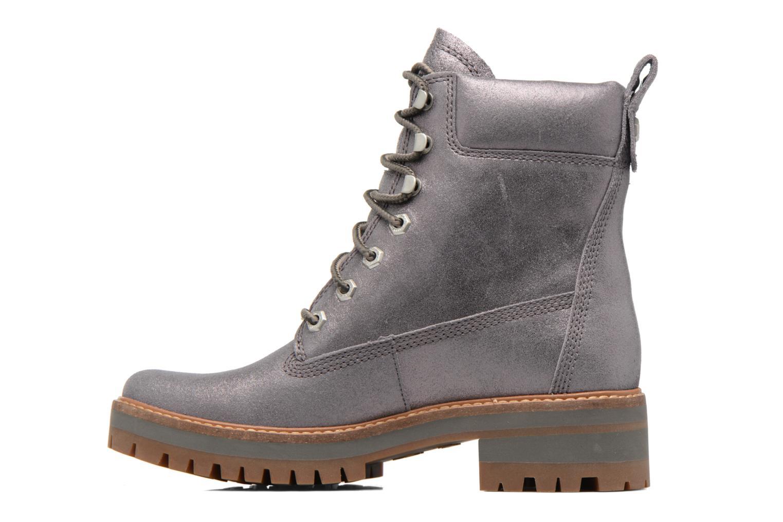 Bottines et boots Timberland Courmayeur Valley Yellow Boot Argent vue face