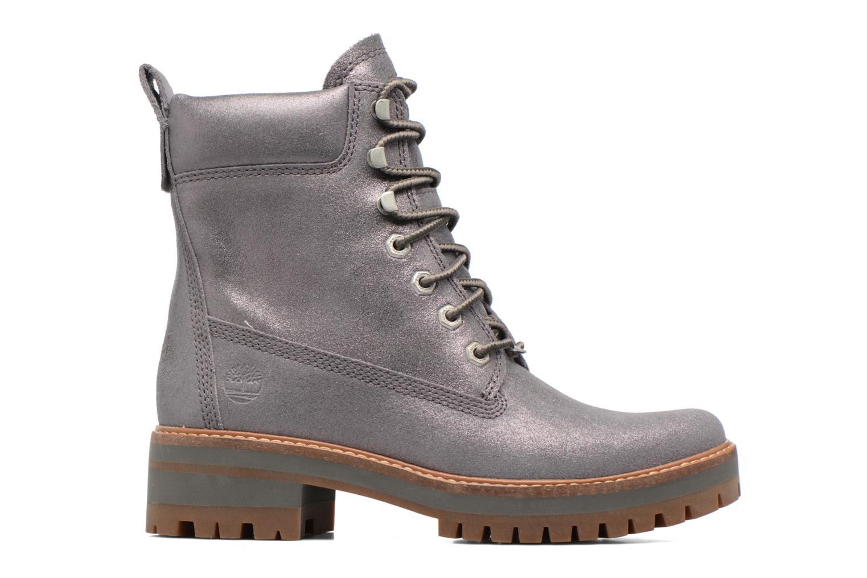 Bottines et boots Timberland Courmayeur Valley Yellow Boot Argent vue derrière