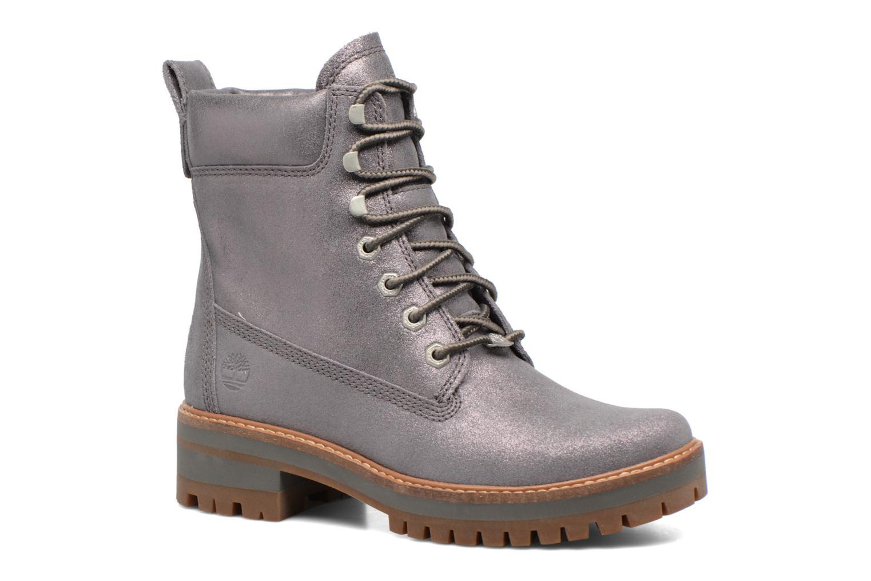 Bottines et boots Timberland Courmayeur Valley Yellow Boot Argent vue détail/paire
