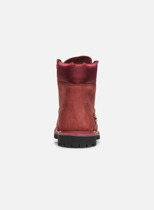 Boots en enkellaarsjes Timberland 6in Premium WP Boot LF- W Bordeaux rechts