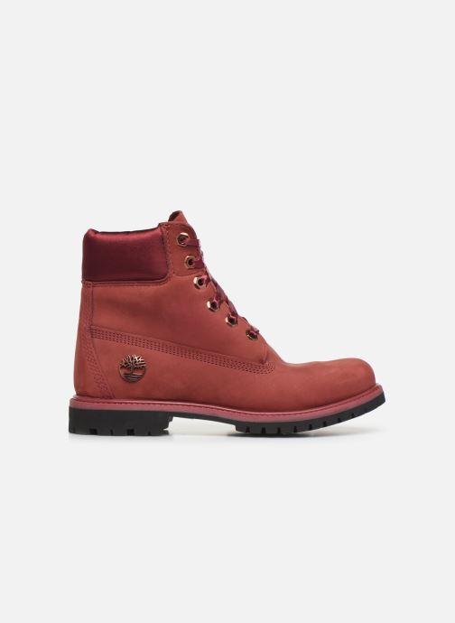 Boots en enkellaarsjes Timberland 6in Premium WP Boot LF- W Bordeaux achterkant