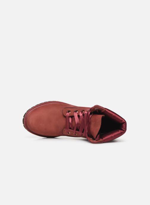 Boots en enkellaarsjes Timberland 6in Premium WP Boot LF- W Bordeaux links