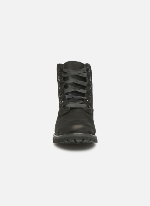 Bottines et boots Timberland 6in Premium WP Boot L/F- W Noir vue portées chaussures