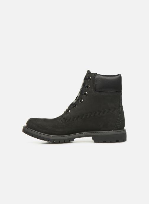 Boots en enkellaarsjes Timberland 6in Premium WP Boot L/F- W Zwart voorkant