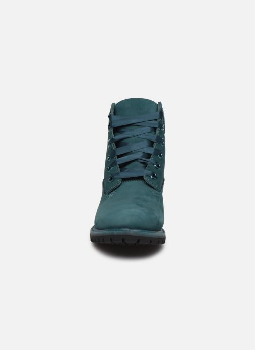 Bottines et boots Timberland 6in Premium WP Boot L/F- W Bleu vue portées chaussures
