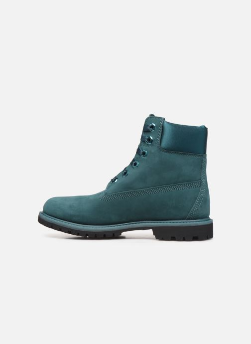 Bottines et boots Timberland 6in Premium WP Boot L/F- W Bleu vue face