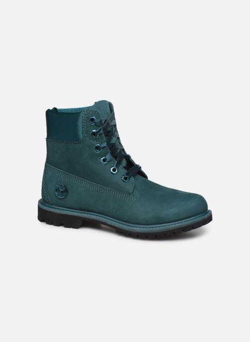 Bottines et boots Timberland 6in Premium WP Boot L/F- W Bleu vue détail/paire