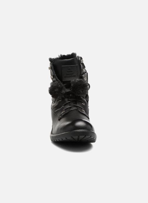 Bottines et boots Bullboxer Maria Noir vue portées chaussures