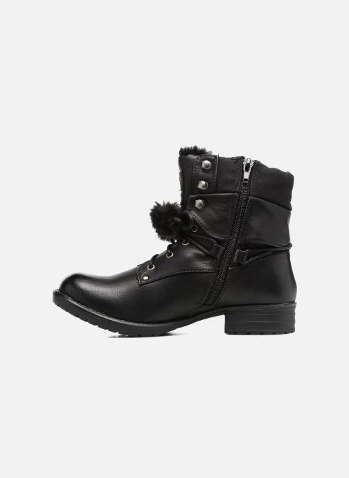 Bottines et boots Bullboxer Maria Noir vue face