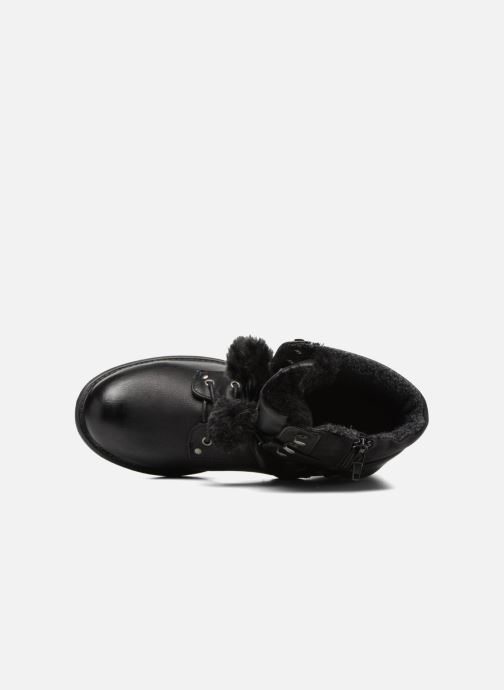 Ankle boots Bullboxer Maria Black view from the left