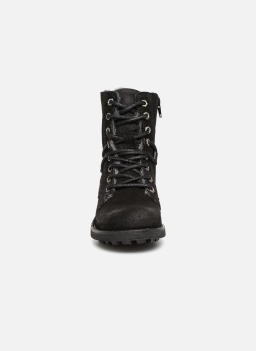 Bottines et boots Bullboxer Elisa Noir vue portées chaussures