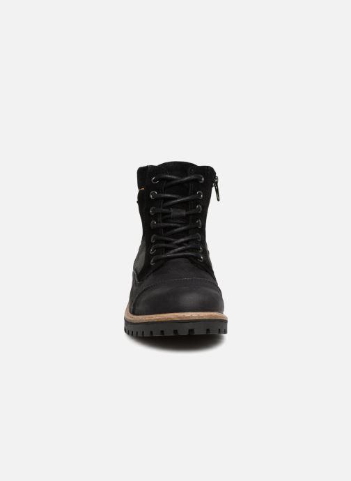 Bottines et boots Bullboxer Tom Noir vue portées chaussures