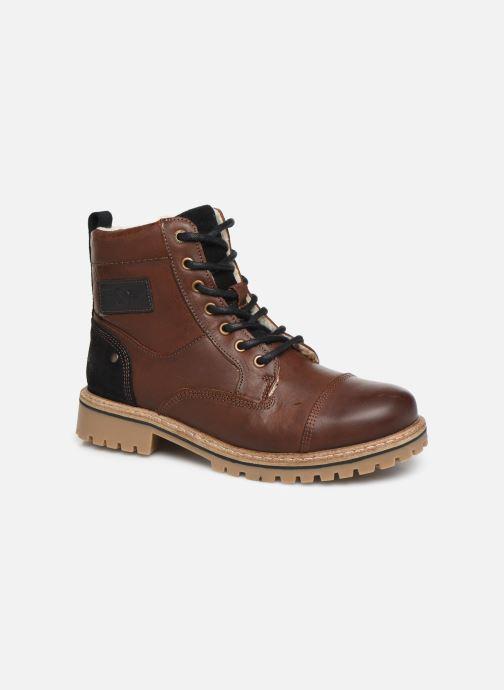 Bottines et boots Bullboxer Tom Marron vue détail/paire