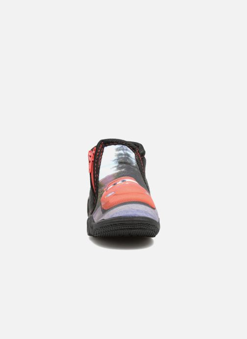 Chaussons Cars Rubanier Noir vue portées chaussures