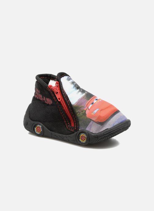 Hjemmesko Cars Rubanier Sort detaljeret billede af skoene