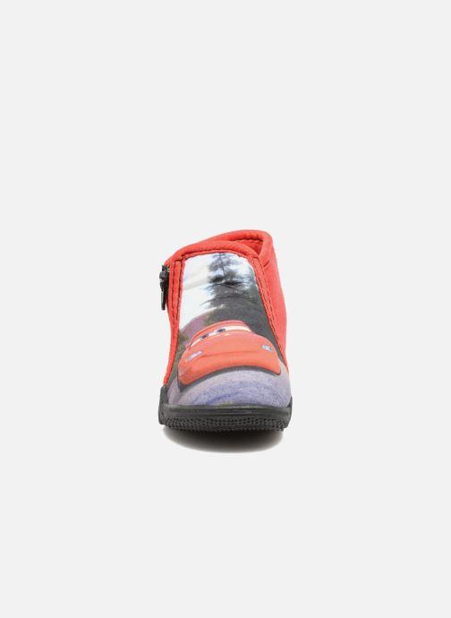 Chaussons Cars Rubanier Rouge vue portées chaussures