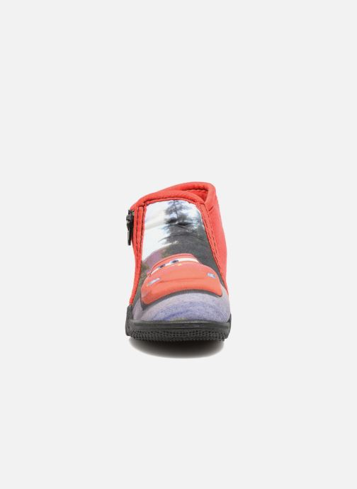 Pantofole Cars Rubanier Rosso modello indossato