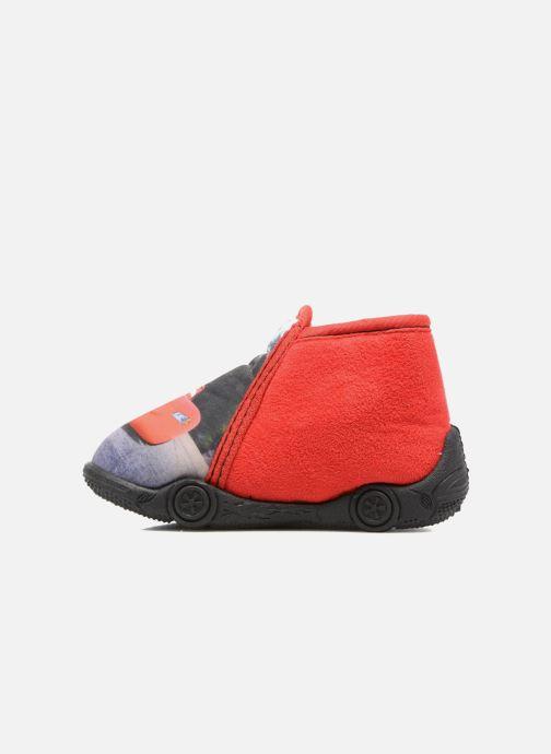 Pantoffels Cars Rubanier Rood voorkant