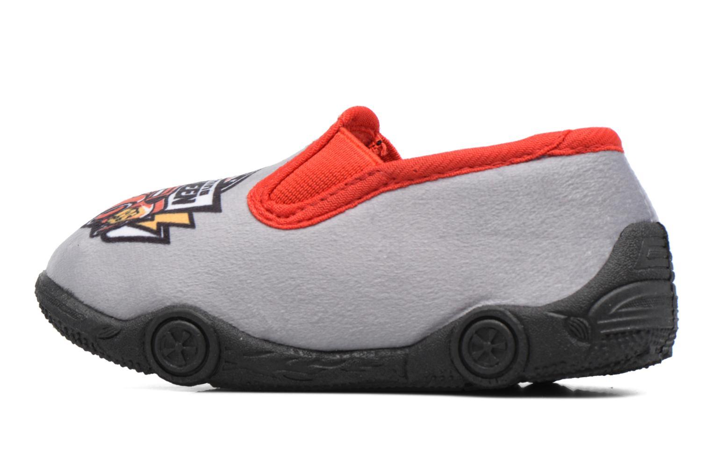 Pantofole Cars Suzario Grigio immagine frontale