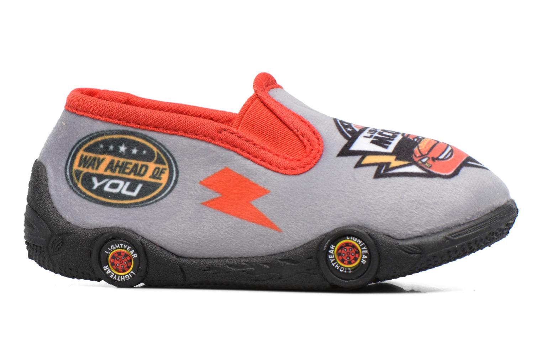 Pantofole Cars Suzario Grigio immagine posteriore