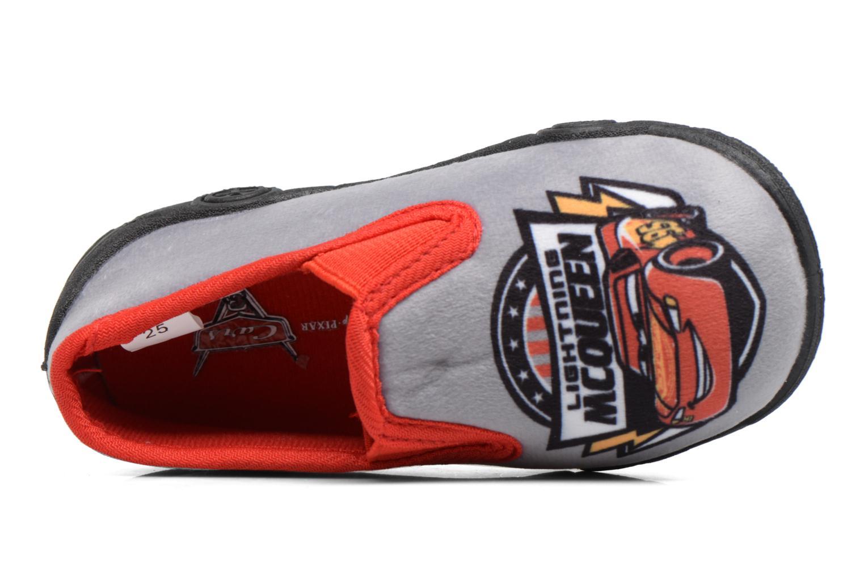 Pantofole Cars Suzario Grigio immagine sinistra